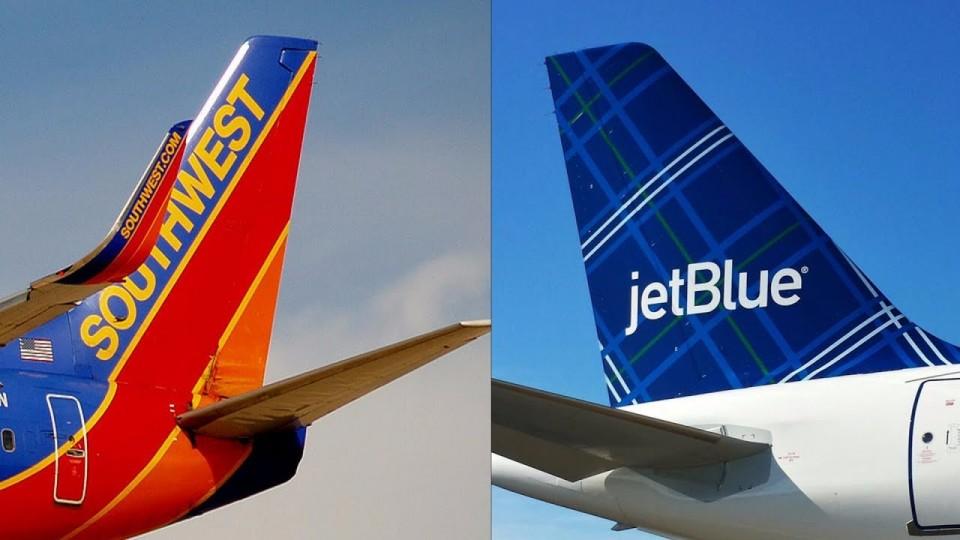 JetBlue Vs. Southwest Airlines
