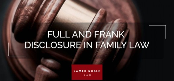 Full And Frank Disclosure