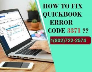 Quickbook error 3371