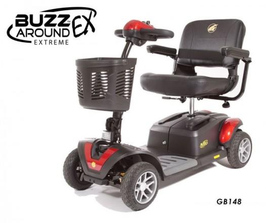 Buzzaround EX 4 wheel travel scooter