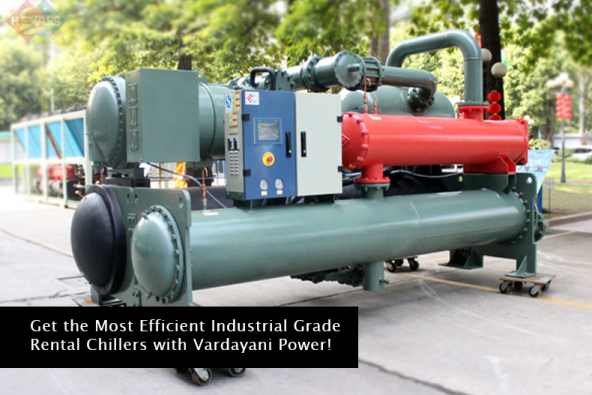 Get the Most Efficient Industrial Grade Rental Chillers with Vardayani Power!